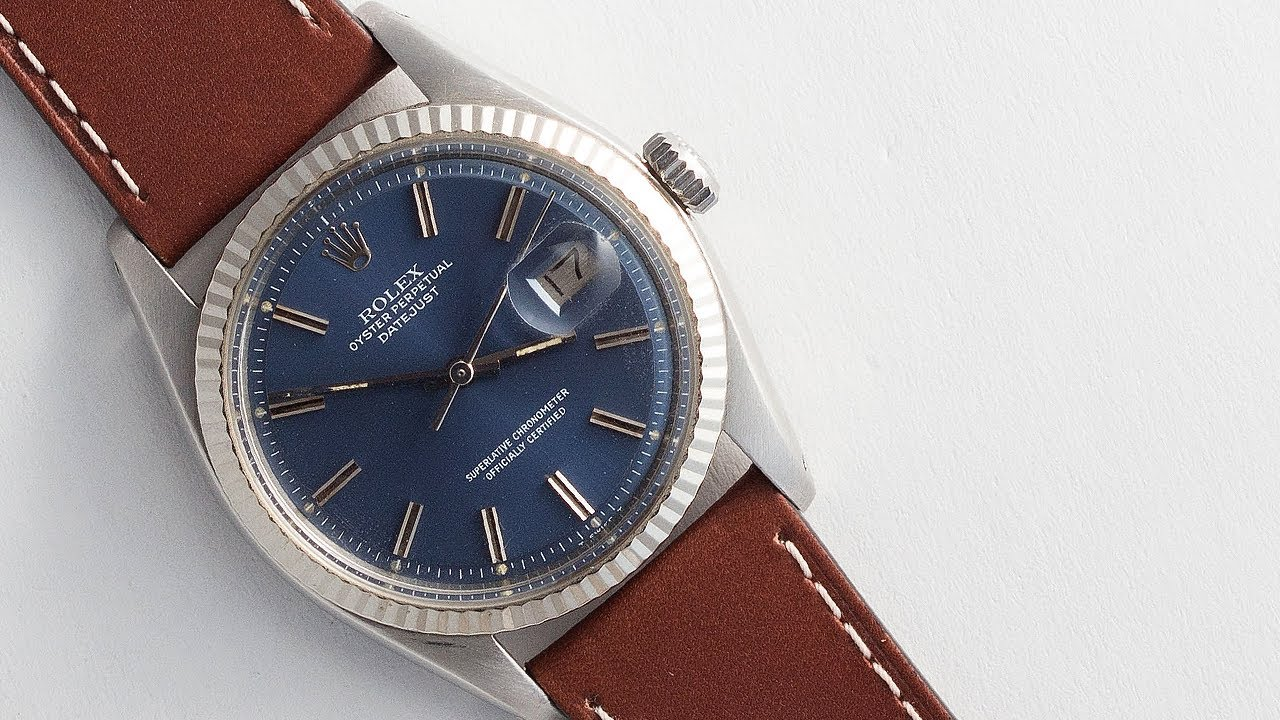 Jean Rousseau X Theo Harris Leather Straps On Rolex T H