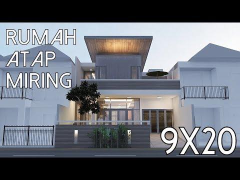 9300 Koleksi Gambar Rumah Tingkat Atap Miring HD Terbaik