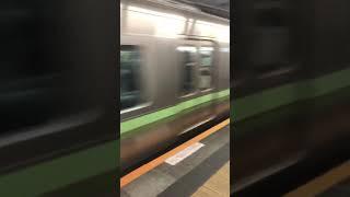 京王井の頭線 新代田駅 急行通過 thumbnail