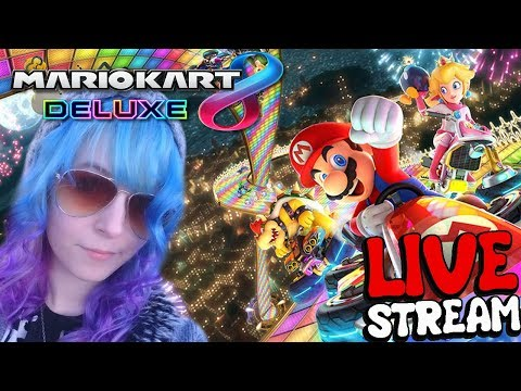 ? PLAY WITH ME!!! - Mario Kart 8 Deluxe ? Live Stream thumbnail
