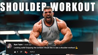 4 weeks out :Shoulders and Calves