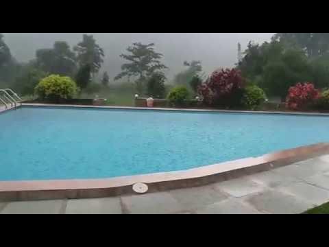 Beautiful swimming pool in mountain view resorts araku - Araku valley resorts with swimming pool ...