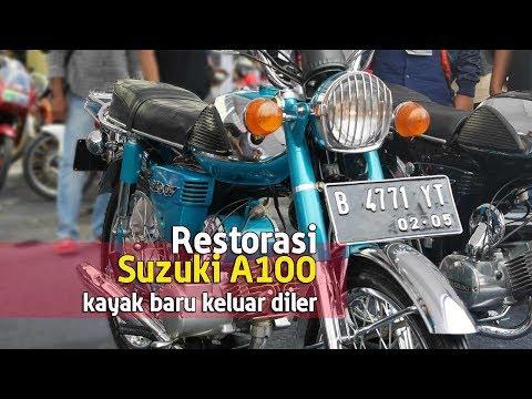 VLOG : Restorasi Suzuki A100, kayak baru keluar diler