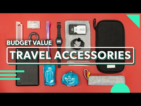 Best Budget Travel Accessories | Value Products & Inexpensive Essentials For Your Next Trip