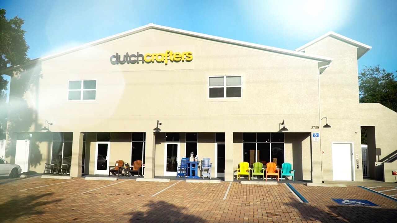 DutchCrafters Amish Furniture Store in Sarasota - YouTube