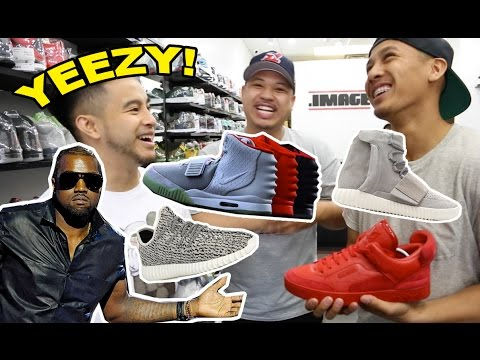 MOST HYPED SNEAKERS BY KANYE WEST!