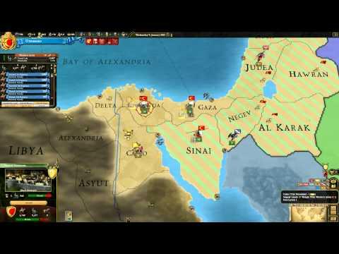 Europa Universalis III Ottoman LP:EP26 Egyptian Adventure