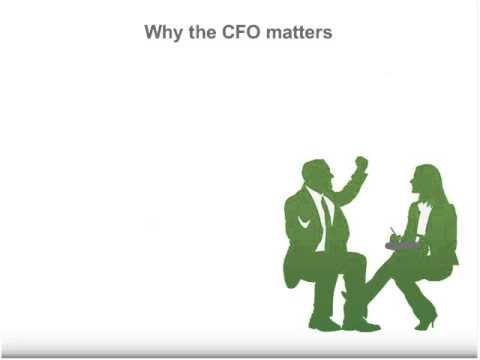 What matters to the CFO