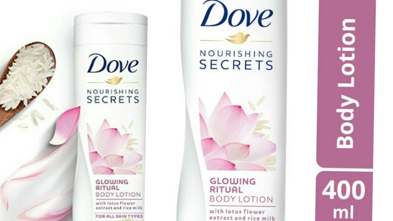 Dove Nourishing Secrets Glowing Ritual Body Lotion Review Youtube