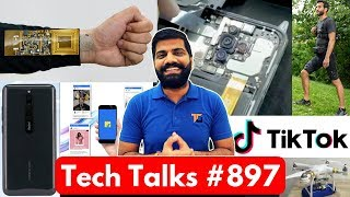 Tech Talks #897 Redmi Note 8 Pro 64MP, Realme 5 Pro SD710, UK Police TikTok, Flipkart Ideas, Jio