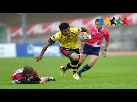 Czech Republic v Malaysia Men's 7/8/9- 7th World University Rugby 7 Championship 2016 – Swansea