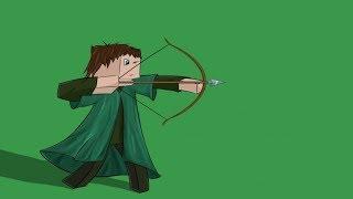 monster school archery challenge minecraft animation