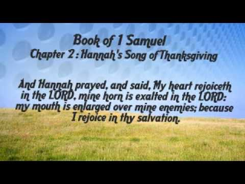1 samuel 2 1 10 hannah's song analysis Samuel, books of :: the lxx  to present a brief and clear analysis of these books of samuel is not altogether  of which hannah's song or psalm in 1 samuel 2 is.