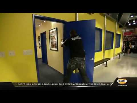 Quinton R&age Jackson vs DOOR! Page goes CRAZY!!! & Quinton Rampage Jackson vs DOOR! Page goes CRAZY!!! - YouTube