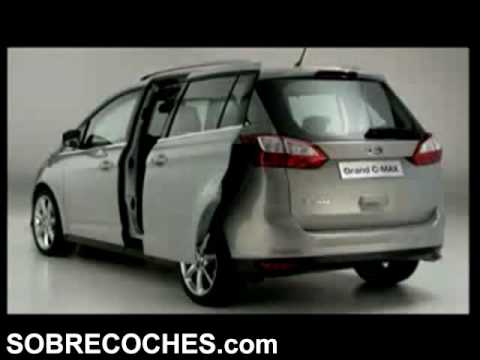 Ford Grand C Max >> Ford Grand C MAX (Exterior e interior) - SOBRECOCHES.com ...
