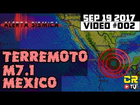 ACTUALIZACION! ALEX BACKMAN HABLA DEL TERREMOTO M7.1 MEXICO (((ALERTA SISMICA))) SEP 19, 2017