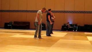 "2012 UCWDC Worlds - Scott Blevin and Guyton Mundy ""Freak a Little More"" Line Dance Demo"