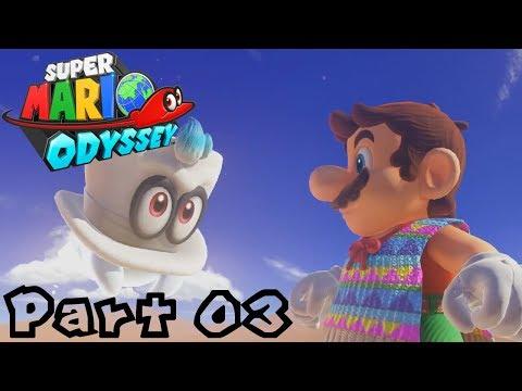 Super Mario Odyssey -- Part 03: Deep Freeze in the Desert | Sand Kingdom