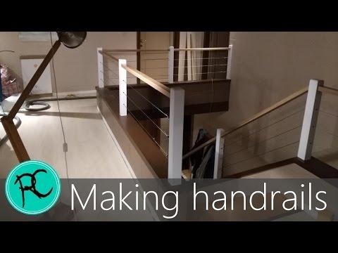 Oak & Steel cable handrails