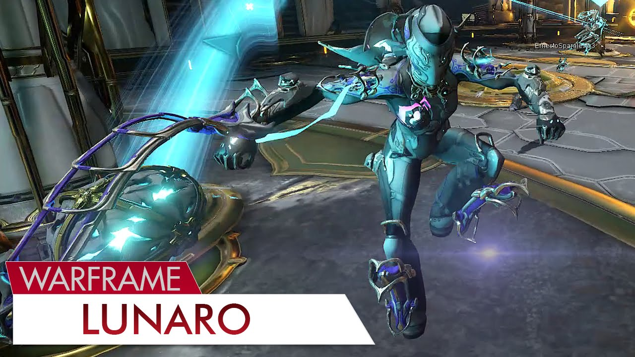 Warframe: Lunaro - YouTube