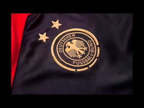 Segunda equipacion camiseta del Alemania  2014