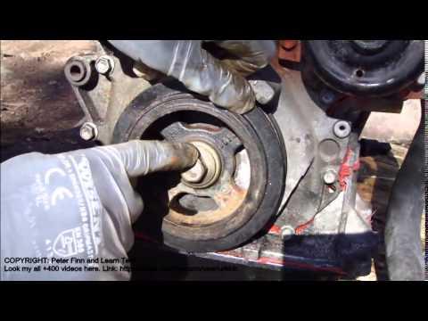 How To Assemble Engine Vvt I Toyota Part 34 Crankshaft