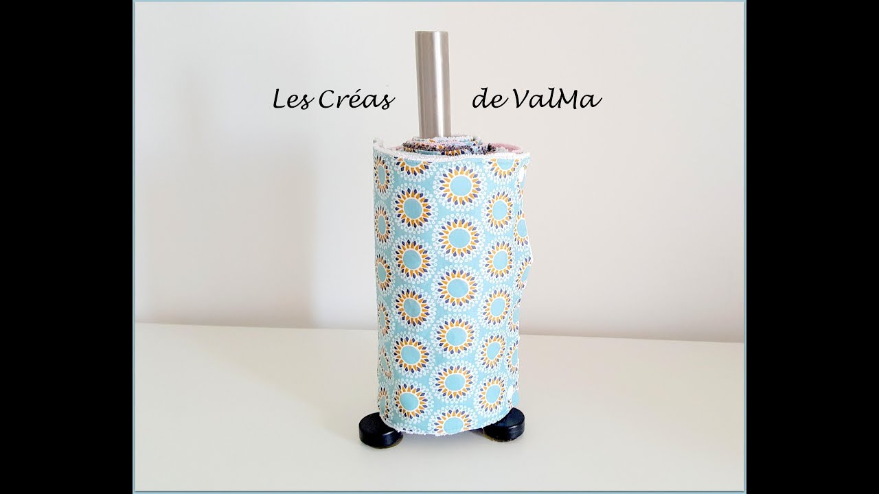 Fabriquer Un Porte Essuie Tout essuie-tout réutilisable lavable - paper towels reusable washable - tuto  couture valma