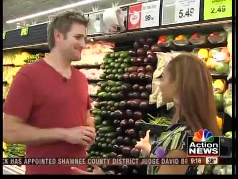 Celebrity Chef Curtis Stone gives tips for healthy eating.
