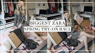 Huge Spring Zara Try-On Haul