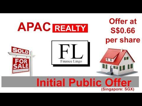 APAC Realty IPO