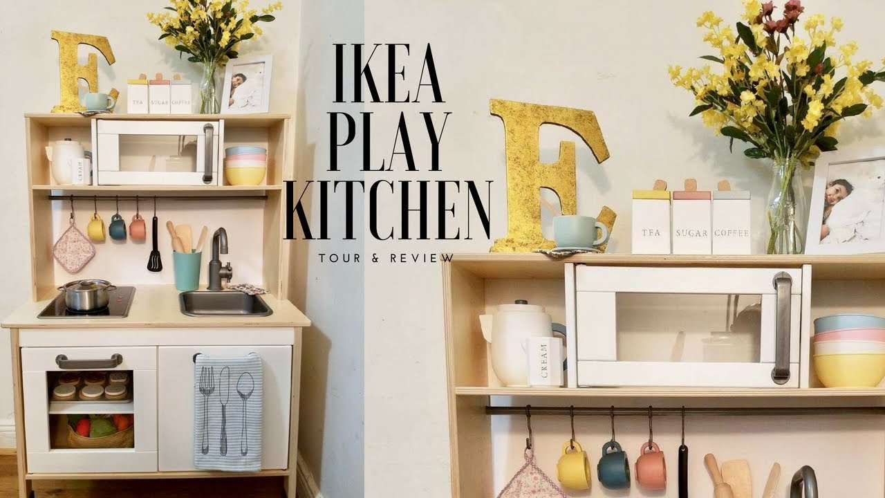 Play Kitchen Ikea Contemporary Table Tour Review Youtube