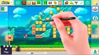 NIVEL SE CREA AUTOMATICAMENTE MIENTRAS JUEGAS | Super Mario Maker