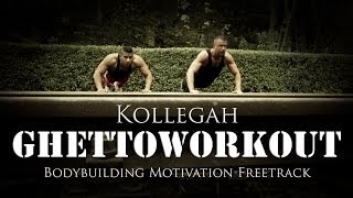 Repeat youtube video Kollegah - Ghettoworkout (Bodybuilding Motivation Freetrack) (Prod. by Hookbeats & Phil Fanatic)