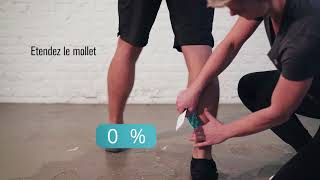 Compex Tape - Application Mollet