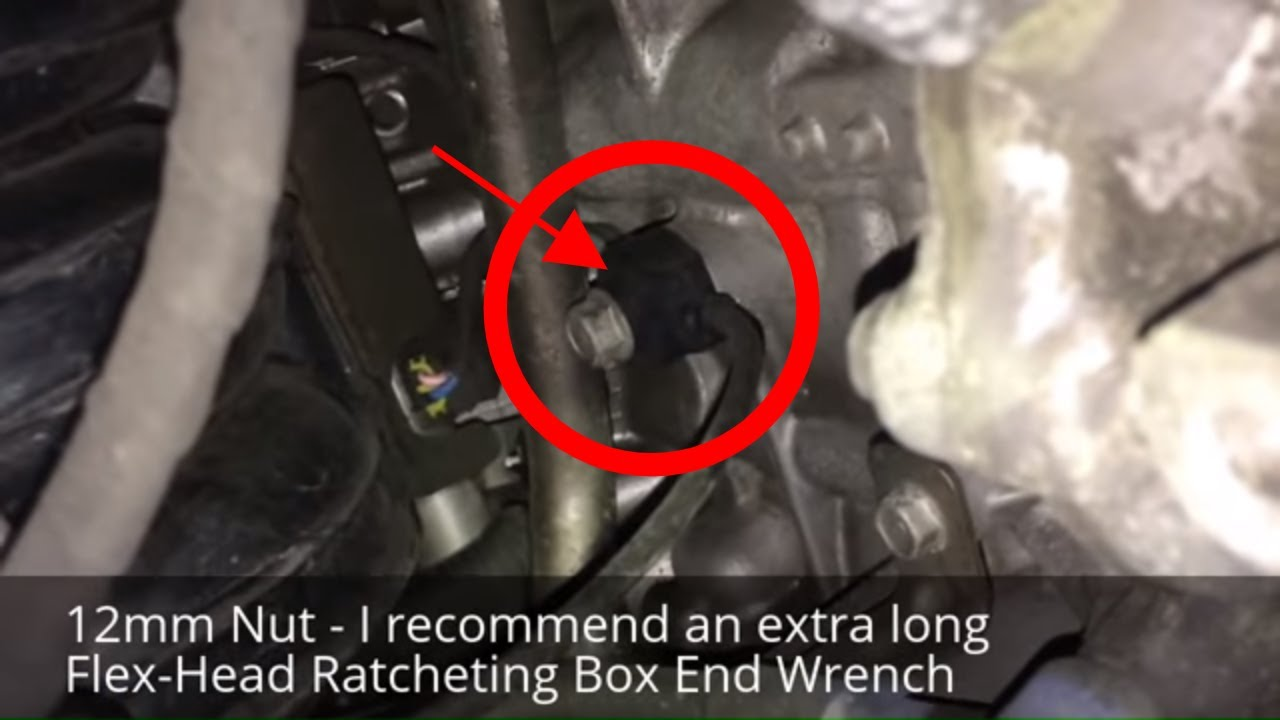 Actual Location Of The Knock Detonation Sensor In A 2012 Hyundai