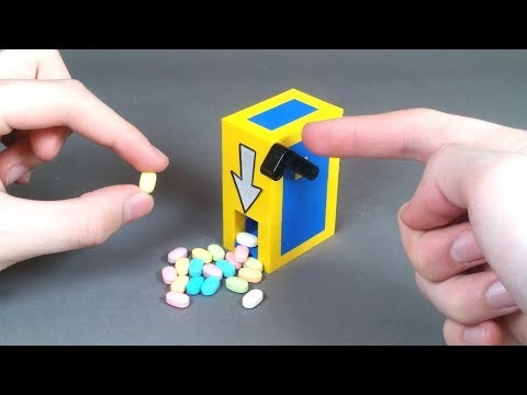 How To Build A Simple LEGO Candy Machine