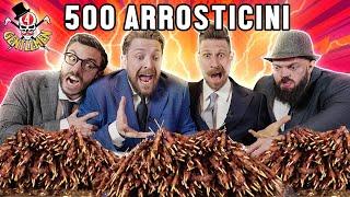 500 ARROSTICINI CHALLENGE con i GENTLEMEN - Thomas Hungry, xMurry, Danny Lazzarin