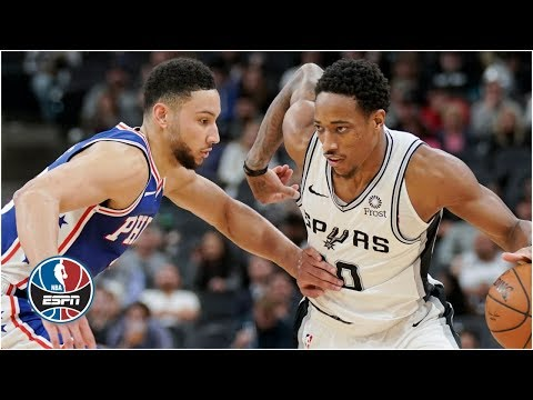 Spurs Vs. 76ers Highlights   NBA On ESPN