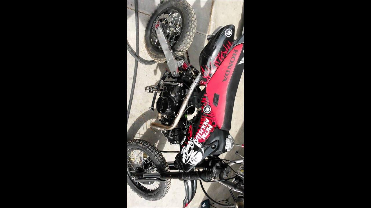 Crf50 pit bike lifan 125cc engine