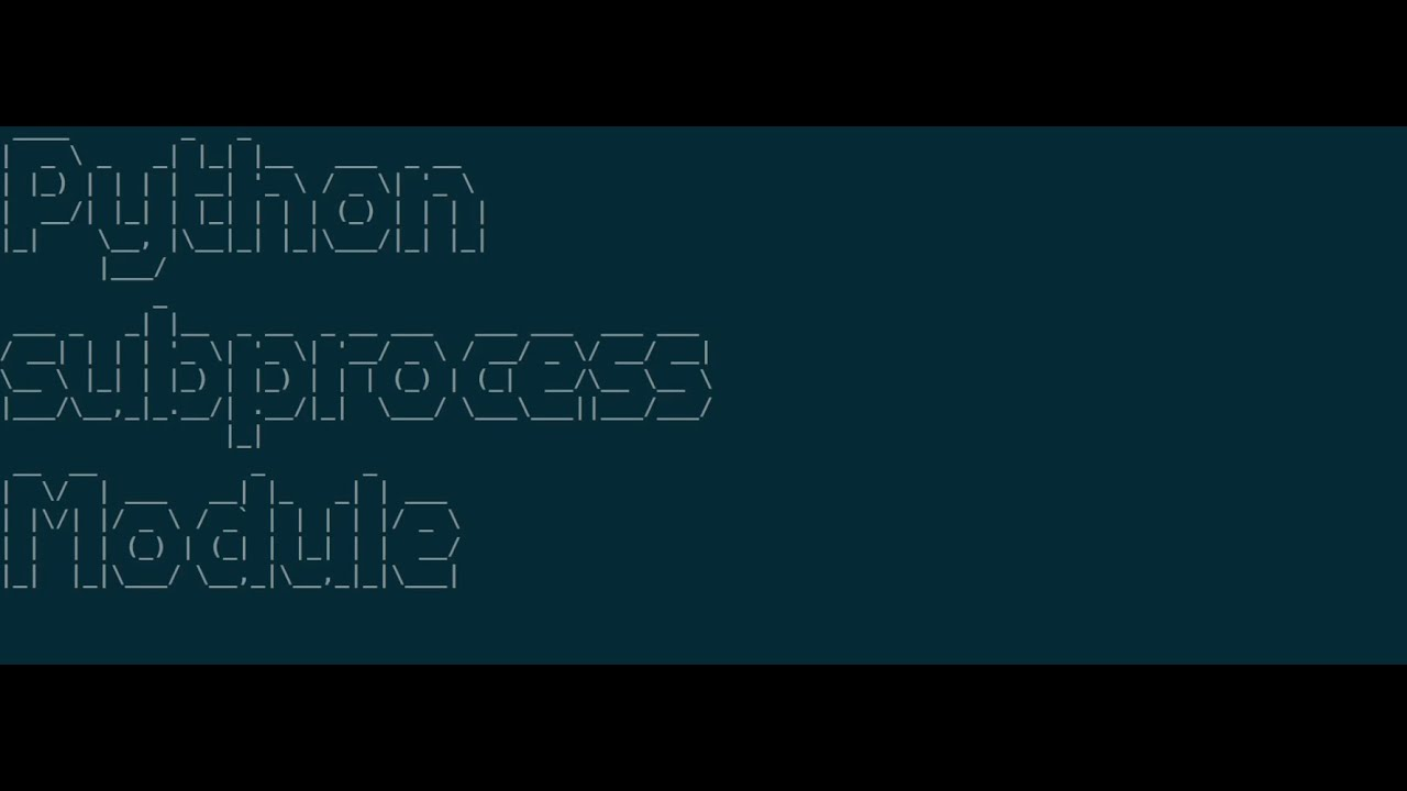 Day 20–20 Days of DevOps — Python Subprocess module   by Prashant ...