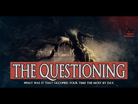 The Questioning On Judgement Day