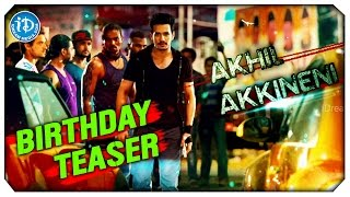 akhil akkineni birthday special teaser first look