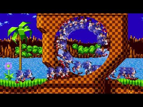100 Sonics in Sonic 1