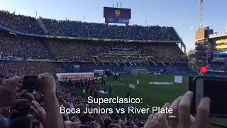 Superclasico, Boca Juniors vs River Plate September 23, 2018