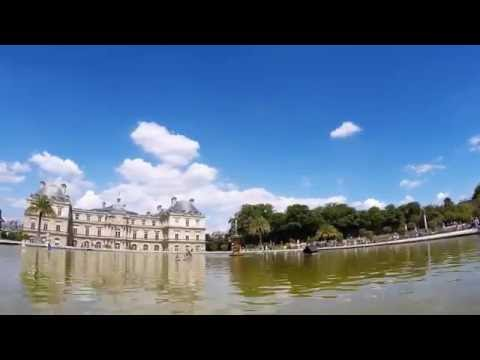 Paris Luxembourg Palace GoPro timelapse