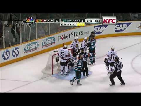 Blackhawks @ Sharks Game 1 5/16/10
