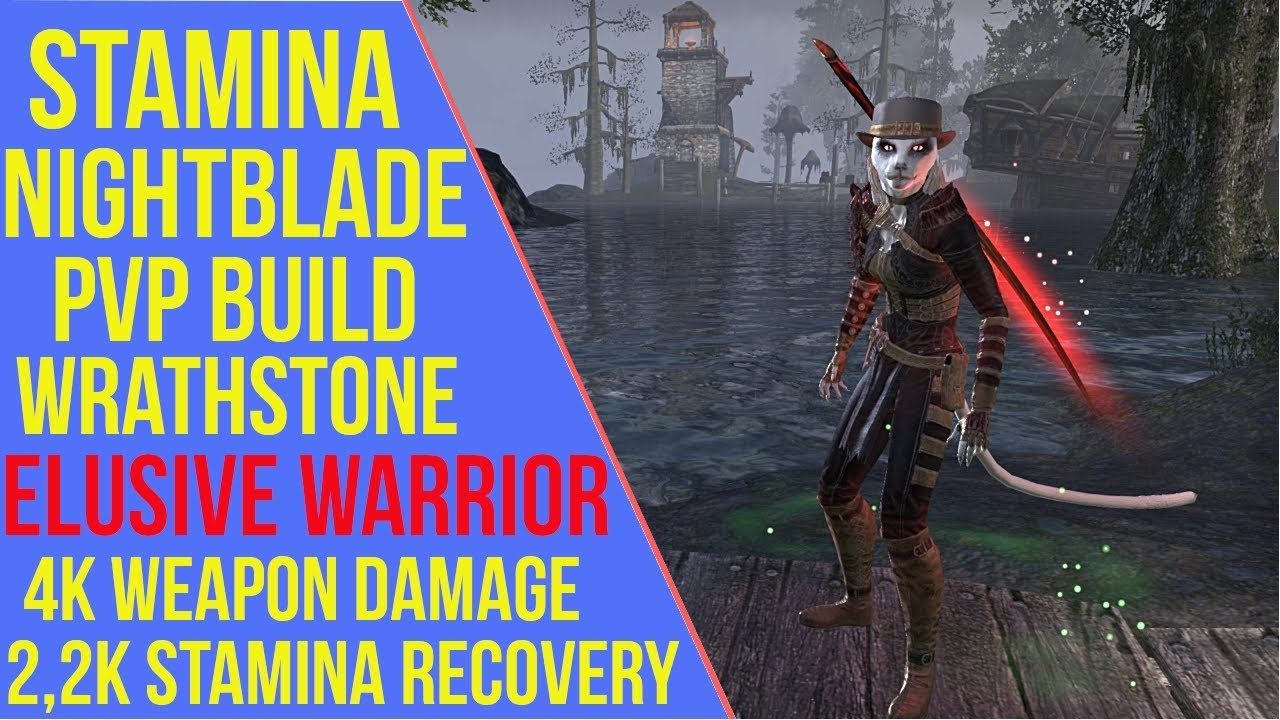 Stamina Nightblade PVP Build - Elusive Warrior - ArzyeLBuilds