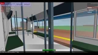 Riding New LRT Train In Roblox