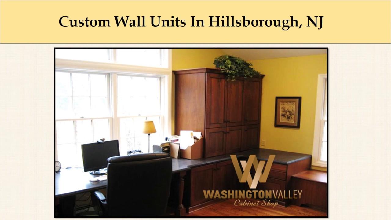 Custom Wall Units In Hillsborough, NJ - YouTube