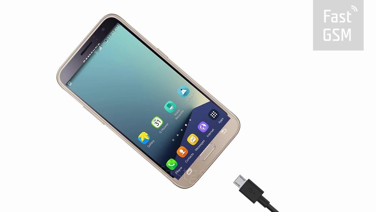 How To Unlock Samsung Galaxy J1 2016 By USB Unlock